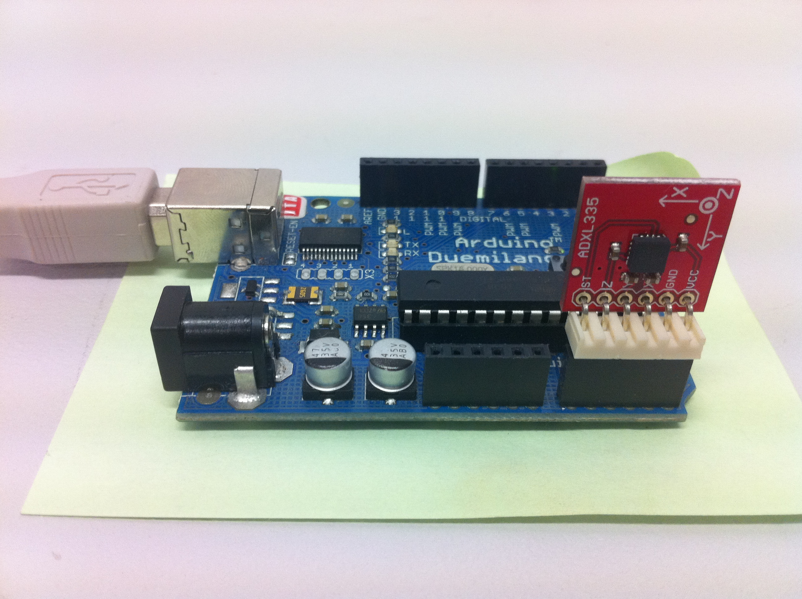 ADXL345 accelerometer breakout board - Code Young